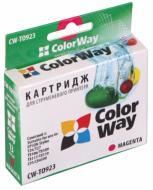 Совместимый картридж ColorWay (CW-T0923) (Stylus:T26/T27/C91/TX106/TX109/TX117/TX119/CX4300) Magenta