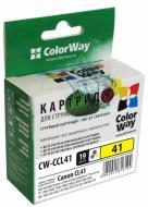����������� �������� ColorWay CW-CCL41 (PIXMA(IP): IP1200, IP1300, IP1600, IP1700, IP1800, IP1900, IP2200, IP2500, IP2600, PIXMA(MP): MP140, MP150, MP160, MP170, MP180, MP190, MP210, MP220, MP450, MP460, PIXMA(MX): MX300, MX310) (C, M, Y)