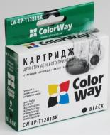 Совместимый картридж ColorWay CW-EP-T1281 (Stylus S22/SX125 /SX420/SX425/SX130 Stylus Office BX305/BX320 Stylus SX230/SX235W /SX430W/SX435W/ S Black