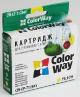 Совместимый картридж ColorWay CW-EP-T1284 (Stylus SX420/SX425 /SX130 Stylus Office BX305/BX320 Stylus SX230/SX235W/ SX430W/SX435W/ SX440W/SX44 Yellow