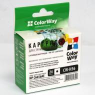 Совместимый картридж ColorWay CW-H56XL (DeskJet: 450 / 5145 / 5150 / 5151 / 5160 / 5550 / 5552 / 9650 / 9670 / 9680 / Digital Copier: 410 / OfficeJet: 4105 / 4110 / 5505 / 5510 / 5515 / PhotoSmart: 7150 / 7260 / 7345 / 7350 / 7450 / 7459 / 7550 / 7655