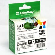 ����������� �������� ColorWay CW-CPG510 (PIXMA: IP2700 / IP2702 / MP230 / MP235 / MP240 / MP250 / MP252 / MP260 / MP270 / MP272 / MP280 / MP282 / MP480 / MP490 / MP492 / MP495 / MP499 / MX320 / MX330 / MX340 / MX350 / MX360 / MX410 / MX420) Black