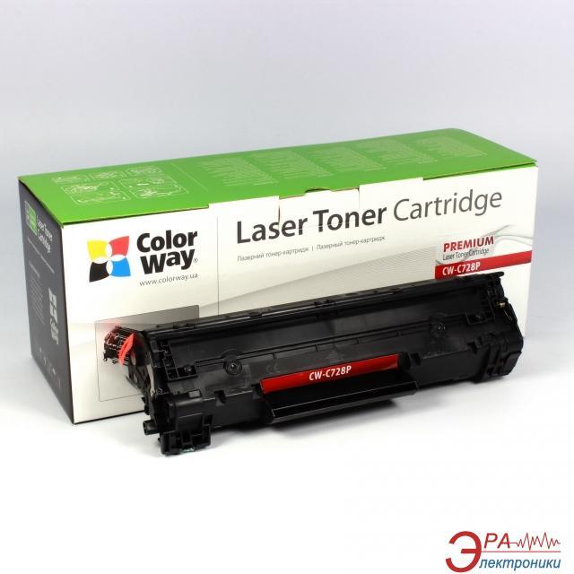 Совместимый картридж ColorWay CW-C728P (MF 4410/ 4430/ 4450/ 4550/ 4570/ 4580 Fax L150/ L170 MF 4890dw/ 4870dn/ 4780w/ 4750/ 4730) Black