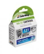Совместимый картридж ColorWay (CW-H121XLB/H121XLCSET) Combo Pack (HP №121BK/121C) (C, M, Y, Bk)