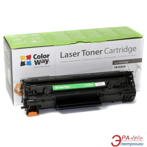 Совместимый картридж ColorWay (CW-H283M) HP LJ Pro M125nw/M127fn/M127fw (CF283A) Black