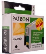 Совместимый картридж Patron T09214A (PN-0921)(CI-EPS-T09214A-B2-PN) (Stylus C91/ CX4300/ T26/ T27/ TX106/ 109/ 117/ 119) Black