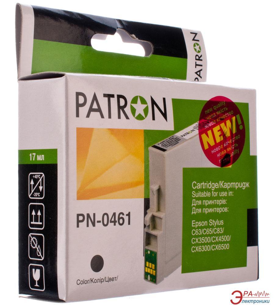 Совместимый картридж Patron T04614A (PN-0461)(CI-EPS-T04614A-B-PN) (Stylus C63/ 65/ 83, CX3500/ 6300) Black