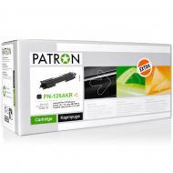 ����������� �������� Patron CE310A (PN-126AKR)(CT-HP-CE310A-B-PN-R) (LJ Pro CP1025 color Series, Pro 100 color MFP M175, TopShot LJ Pro M275 MFP) Black