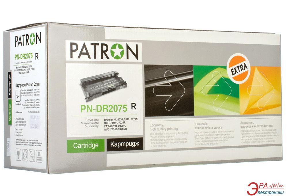 Совместимый картридж Patron DR-2075 (PN-DR2075R)(CT-BRO-DR-2075-PN-R) (HL-2030/ 2040/ 2070N, DCP-7010R/ 7025R, FAX-2825R/ 2920R, MFC-7420R/ 7820NR) Black