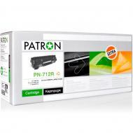 Совместимый картридж Patron 712 (PN-712R)(CT-CAN-712-PN-R) (i-SENSYS LBP3010/ 3010B/ 3020, HP LaserJet P1005/ 1006) Black