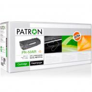 Совместимый картридж Patron Q7553A (PN-53AR)(CT-HP-Q7553A-PN-R) (LJ P2014/ 2015 Series, M2727mfp) Black