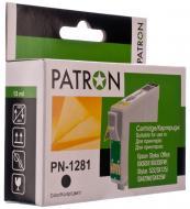 Совместимый картридж Patron T1281 (PN-1281)(CI-EPS-T1281-B-PN) (Epson S22/ SX125/ SX420W/ SX425) Black
