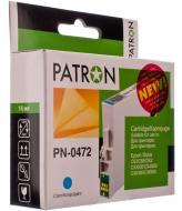Совместимый картридж Patron (PN-0472) (CI-EPS-T04724A-CY-PN) T04724A (Epson Stylus C63/65, CX3500) Cyan