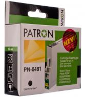 Совместимый картридж Patron (PN-0481) (CI-EPS-T048140-B-PN) T048140 (Epson Stylus Photo R200/220/300/320/340, RX500/600/620/640) Black