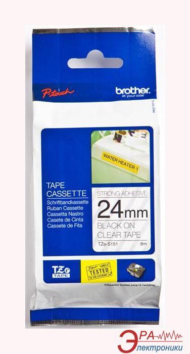 Лента клеящаяся Brother 24mm (TZES151)