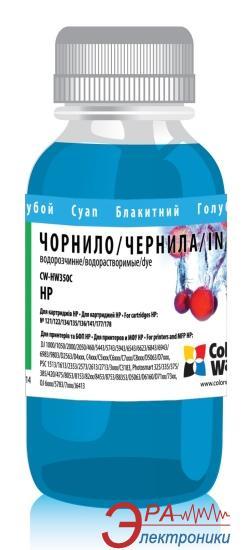 Чернила ColorWay HP 134/135 Cyan HW350C (CW-HW350C) 100 мл (г)