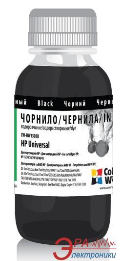 Чернила ColorWay HP Universal Black HW130BK (CW-HW130BK) 200 мл (г)