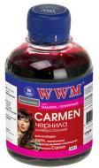 Чернила WWM Canon Universal Carmen Magenta (CU/M) (G220131) 200 мл (г)