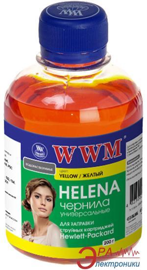 Чернила WWM HP Universal Helena Yellow (HU/Y) (G225281) 200 мл (г)