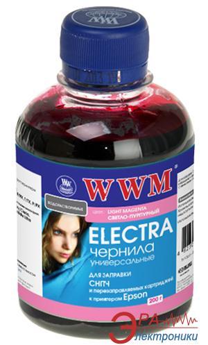 Чернила WWM Epson Universal Electra Light Magenta (EU/LM) (G222061) 200 мл (г)