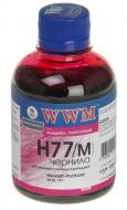 ������� WWM HP Magenta (H77/M) (G225131) 200 �� (�)