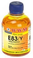 Чернила WWM Epson Yellow (E83/Y) (G224141) 200 мл (г)