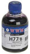 Чернила WWM HP Black (H77/B) (G225111) 200 мл (г)