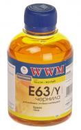 Чернила WWM Epson Yellow (E63/Y) (G223791) 200 мл (г)