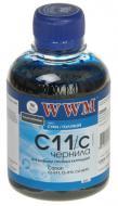 Чернила WWM Canon Cyan (C11/C) (G220751) 200 мл (г)