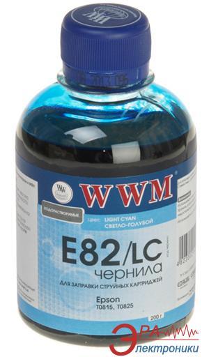 Чернила WWM Epson Light Cyan (E82/LC) (G223941) 200 мл (г)