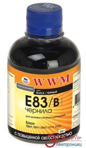 Чернила WWM Epson Black (E83/B) (G224111) 200 мл (г)