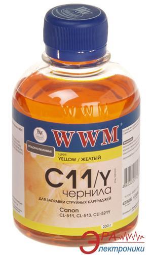 Чернила WWM Canon Yellow (C11/Y) (G220771) 200 мл (г)