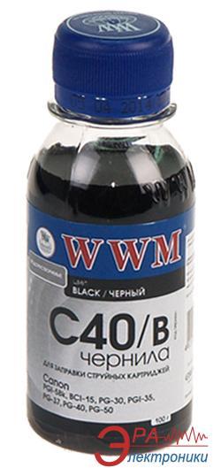 Чернила WWM Canon Black (C40/B) (G220651) 200 мл (г)