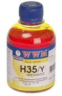 Чернила WWM HP Yellow (H35/Y) (G225751) 200 мл (г)