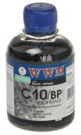 Чернила WWM Canon Black (C10/BP) (G220731) 200 мл (г)
