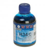 Чернила WWM HP №22/134/121 Cyan (H34/C) (G225411) 200 мл (г)