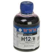 Чернила WWM HP №10/11/12 Black (H12/B) (G225801) 200 мл (г)
