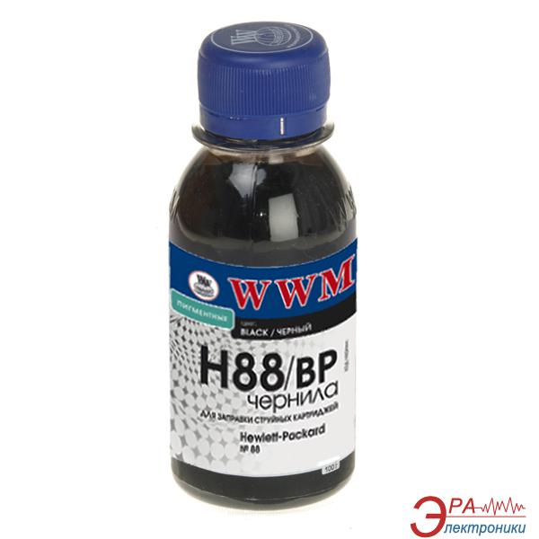 Чернила WWM HP №88 Black (H88/BP-2) (G225062) 100 мл (г)