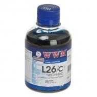 Чернила WWM Lexmark №26/27 Cyan (L26/C) (G226361) 200 мл (г)