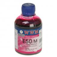 Чернила WWM Epson Stylus Photo R200/R340/RX620 Magenta (E50/M) (G222921) 200 мл (г)