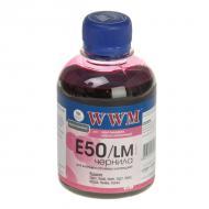Чернила WWM Epson Stylus Photo R200/R340/RX620 Light Magenta (E50/LM) (G222951) 200 мл (г)