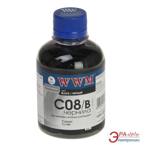 Чернила WWM Canon CLI-8B Black (C08/B) (G220641) 200 мл (г)