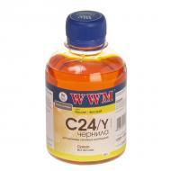 Чернила WWM Canon BCI-24C Yellow (C24/Y) (G220271) 200 мл (г)