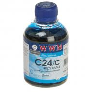 Чернила WWM Canon BCI-24C Cyan (C24/C) (G220261) 200 мл (г)