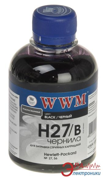 Чернила WWM HP №27/56 Black (H27/B) (G225351) 200 мл (г)