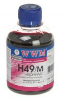Чернила WWM HP №49/78/25 Magenta (H49/M) (G225231) 200 мл (г)