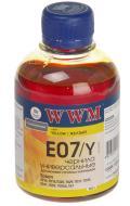 Чернила WWM Epson Stylus C42/C48/C62 Yellow (E07/Y) (G222241) 200 мл (г)