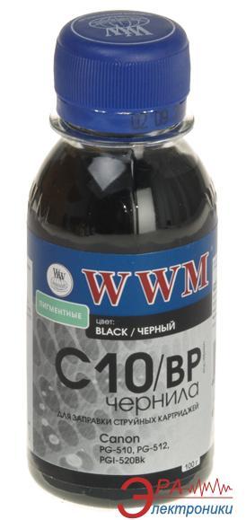 Чернила WWM Canon PG-510Bk/PG-512Bk/PGI-520Bk Black (C10/BP-2) (G220732) 100 мл (г)