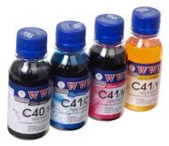 Комплект чернил WWM Canon PG-40/CL-41(C40/41SET-2) (G110612) 100 мл (г)