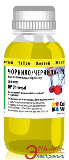 Чернила ColorWay HP Universal Yellow HW130Y (CW-HW130Y) 100 мл (г)